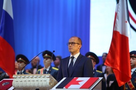 Новый глава Удмуртии принес присягу на русском и удмуртском языках