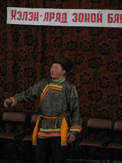 В Усть-Ордынском Бурятском округе возрождают мастерство сказителей улигеров