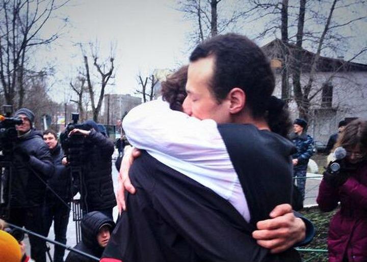 Илья Фарбер вышел на свободу