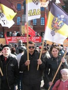 Русские националисты проведут День труда под антимигрантскими лозунгами