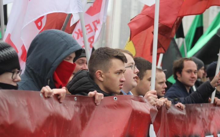 Русский марш-2019 в Люблино
