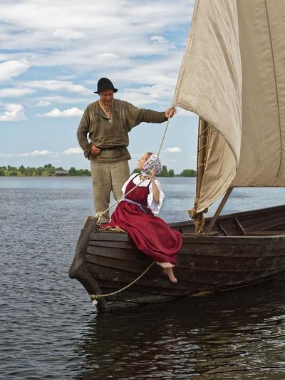 Выставка старинных шитых лодок откроется на острове Кижи