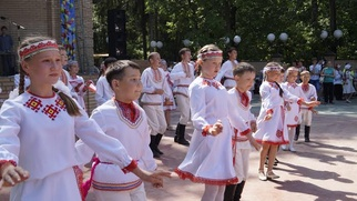В Йошкар-Оле для детей устроили марийский праздник
