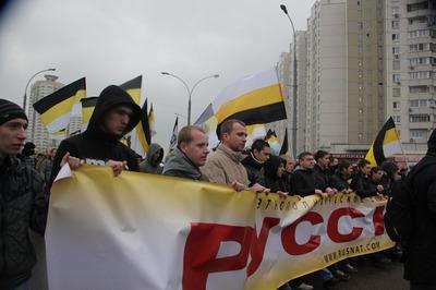 """ВЦИОМ: Каждый четвертый россиянин поддерживает """"Русский марш"""""""