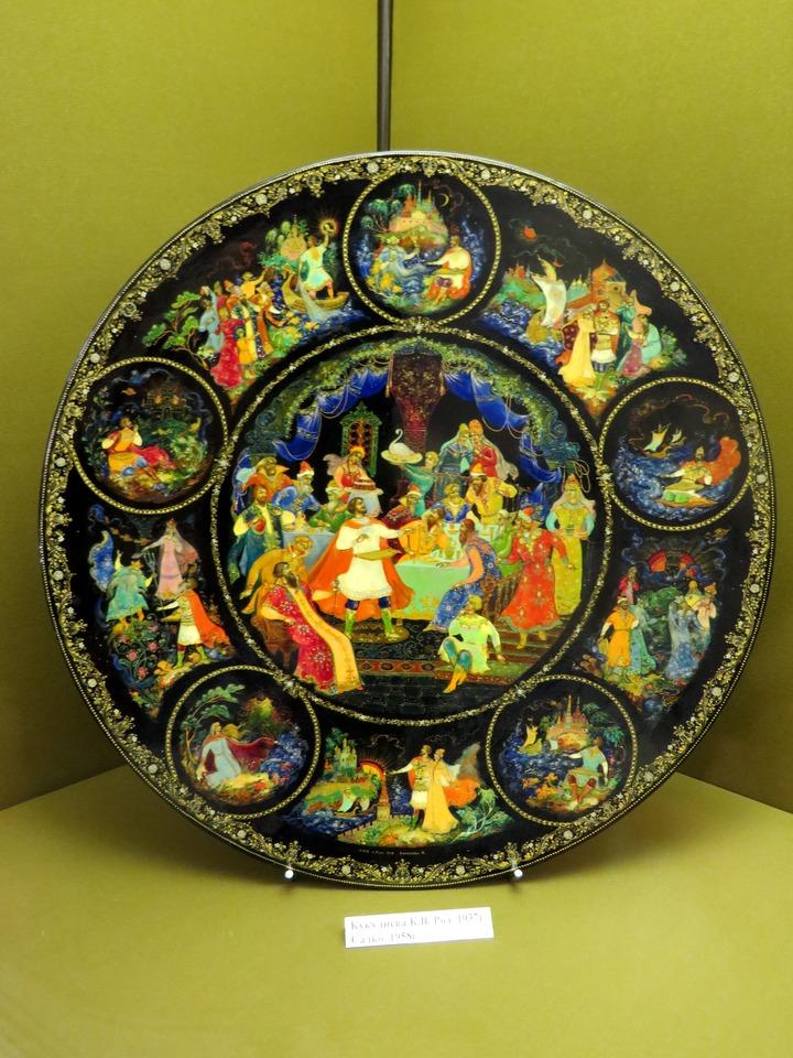 Музей Палехского искусства: лаковые миниатюры и вышивка