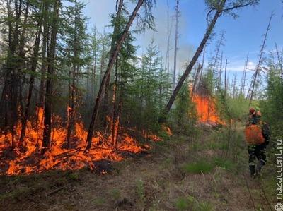 В якутском национальном селе Бясь-Кюель сгорели 32 дома