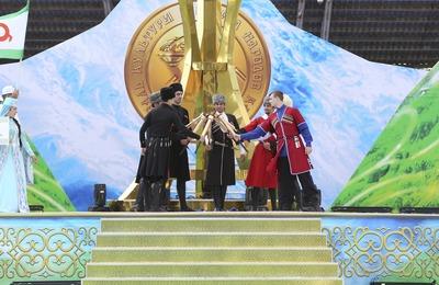 Олимпийцы вынесут флаг Фестиваля культуры и спорта народов Кавказа