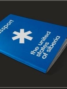 Дизайнеры создали паспорт Объединенных штатов Сибири