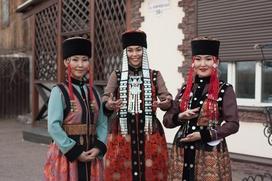 Фестиваль родовых костюмов в Бурятии