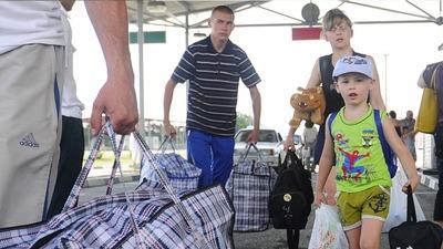 Статус беженца в России получили несколько сотен граждан Украины