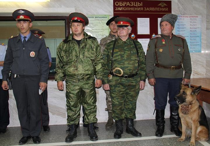 Казаки будут патрулировать вместе с полицией столицу Югры