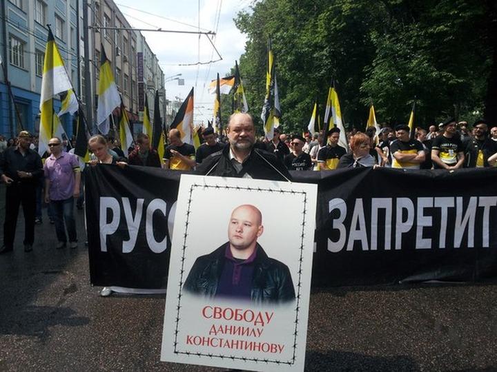 "На акции ""Белые ночи"" был задержан отец Даниила Константинова"