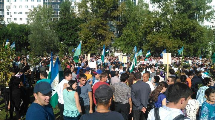 В Уфе прошел несогласованный митинг в защиту башкирского языка