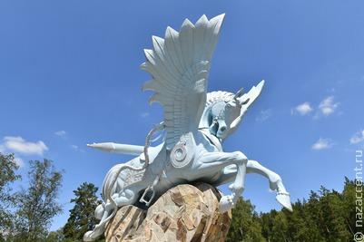 На Всемирной фольклориаде открыли первый в мире памятник герою башкирского эпоса