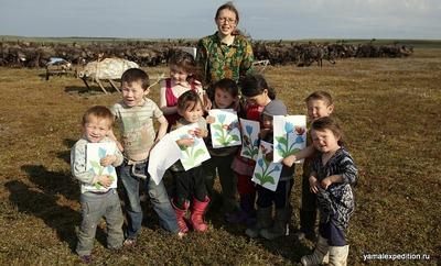 На Ямале ученые целый год кочевали с семьей ненцев-оленеводов