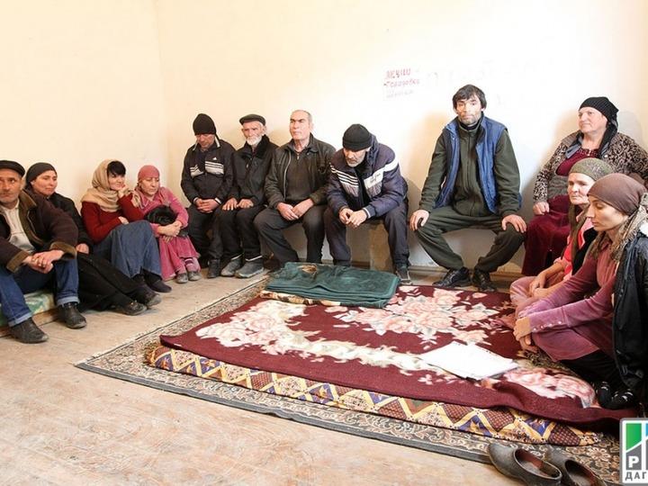 Жители села Шушия прекратили голодовку