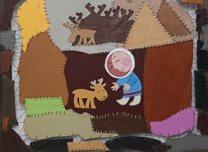 """""""Страна оленья"""": выставка картин о северных оленях открылась на Ямале"""