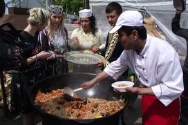 Воронежцев угостят национальными блюдами
