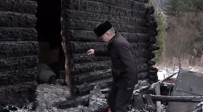 После очередного поджога в шорском поселке Казас осталось два жилых дома