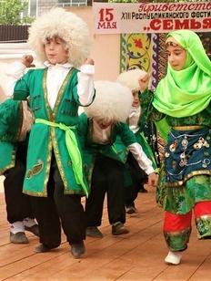 """Обряды разных народов показали на фестивале """"Семья Дагестана"""""""