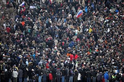 На оппозиционном Марше свободы националисты будут только наблюдать