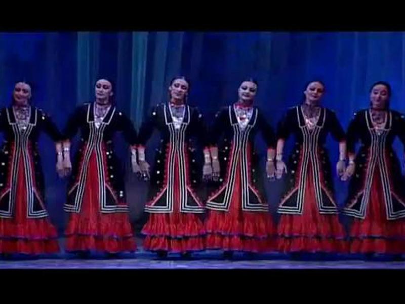 """Башкирский танец """"Семь девушек"""""""