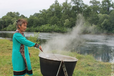 Праздник первой рыбы на Сахалине