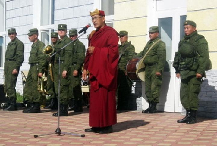 Первым в России военным священником-буддистом стал бурят