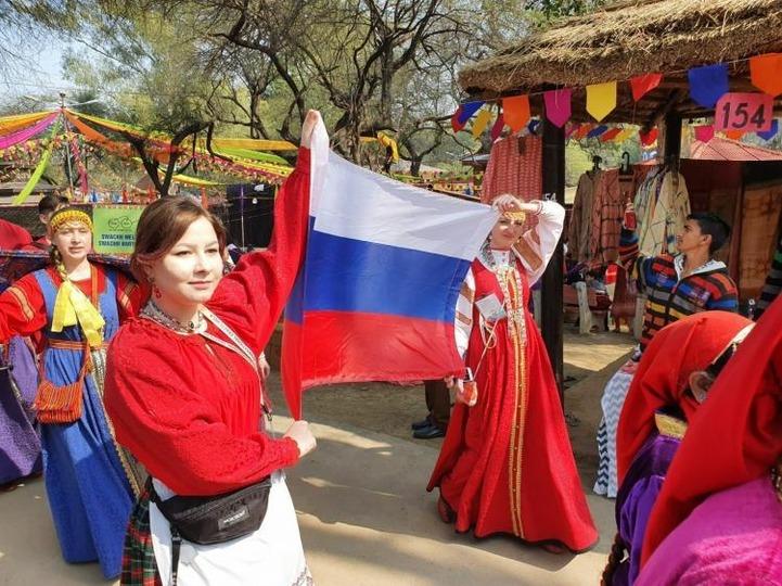 Российский фольклорный ансамбль примет участие в фестивале ремесел в Индии
