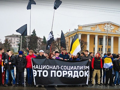 """В Чувашии проверят заявление министра МВД, оправдывающее национал-социалистический лозунг на """"Русском марше"""""""