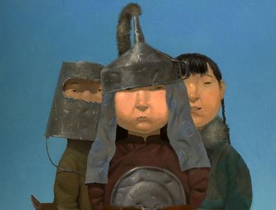 Выставка бурятского художника пройдет в Третьяковской галерее