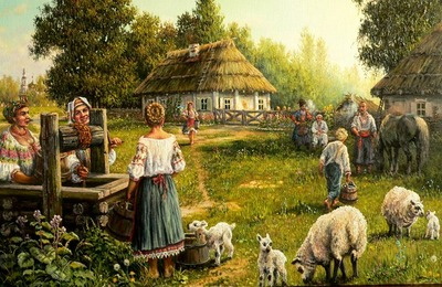 Веселы привалы, где казаки запевалы