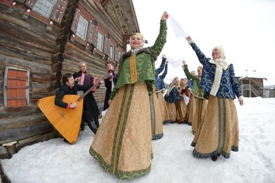 Поморские гуляния на Николу Зимнего пройдут в Архангельске