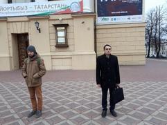 """В Казани активисты провели """"час тишины"""" в поддержку татарского языка"""