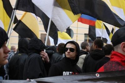 В Петербурге русские националисты провели митинг против приговора Мирзаеву