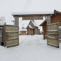 """Казачий """"Обдорский острог"""" в Салехарде"""