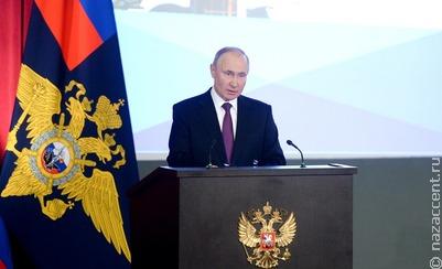 Путин – МВД: необходимо жёстко пресекать пропаганду национализма, ксенофобии и религиозной вражды