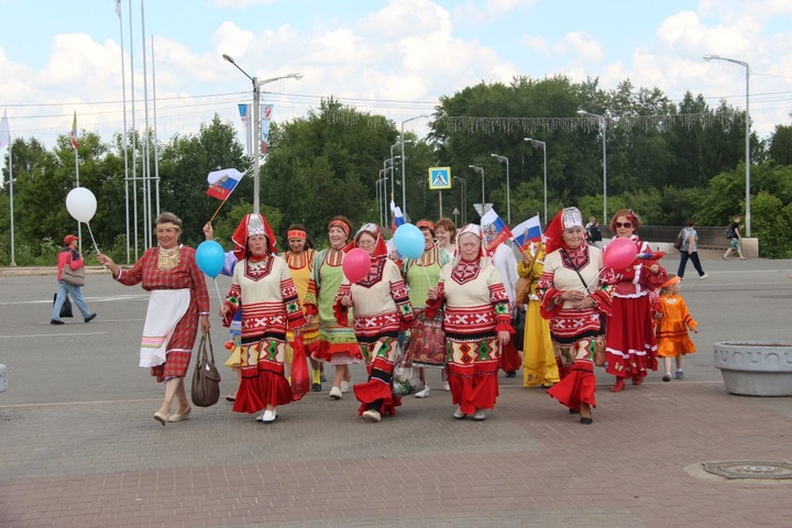 Всероссийский Парад дружбы народов России