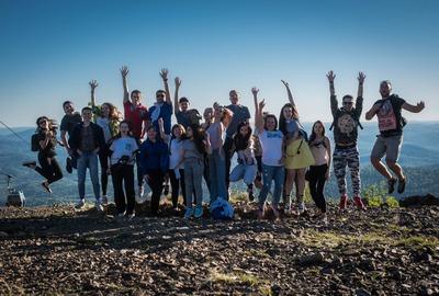 Экспедиция Росмолодежи в Хакасии и Кемеровской области