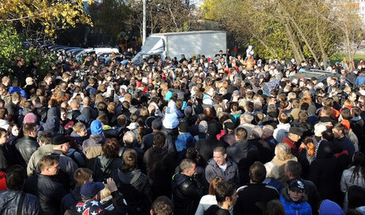 """Спецслужбы обвинили в погромах на юге Москвы экстремистов из группировки """"Бирюлевский фронт"""""""