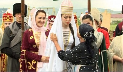В Адыгее реконструировали старинные свадебные обряды