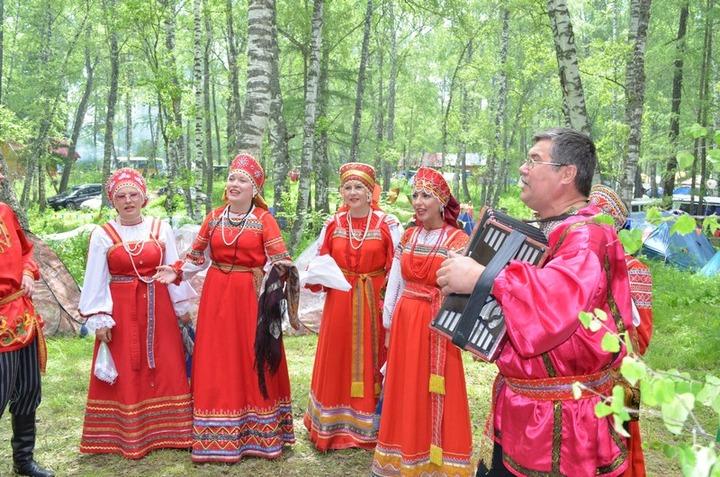 В Горном Алтае завершился фестиваль русского народного творчества