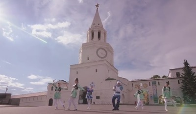 """Молодежь Татарстана станцевала под песню """"Порушка"""""""