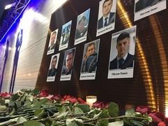 Оркестр русских народных инструментов выступил в память о жертвах крушения Ту-154