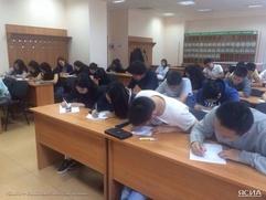 В Томске и Новосибирске впервые написали диктант на якутском языке