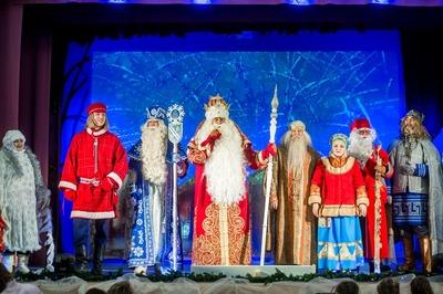 Олонецкие игры Дедов Морозов прошли в Карелии