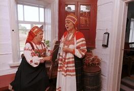 В Рязанской области показали старинные свадебные обряды