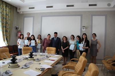 Выпуск студентов Школы межэтнической журналистики в 2016 году