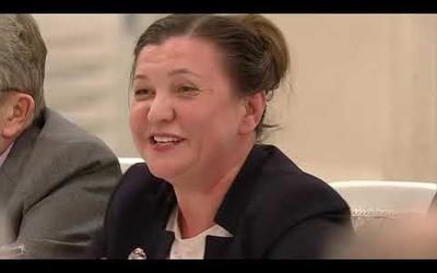 Маргарита Лянге предложила Владимиру Путину учесть госнацполитику при финансировании федеральных СМИ