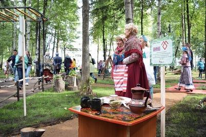 Русская береза и удмуртский кедр: Сад дружбы народов открыли в Ижевске